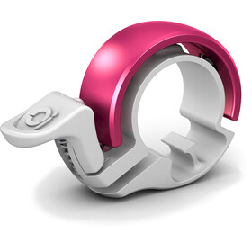 Knog Oi Classic Bike Bell pink/white